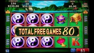 High Limit China Shores Slot Machine Bonus Won $10 Bet ! Live Slot Play