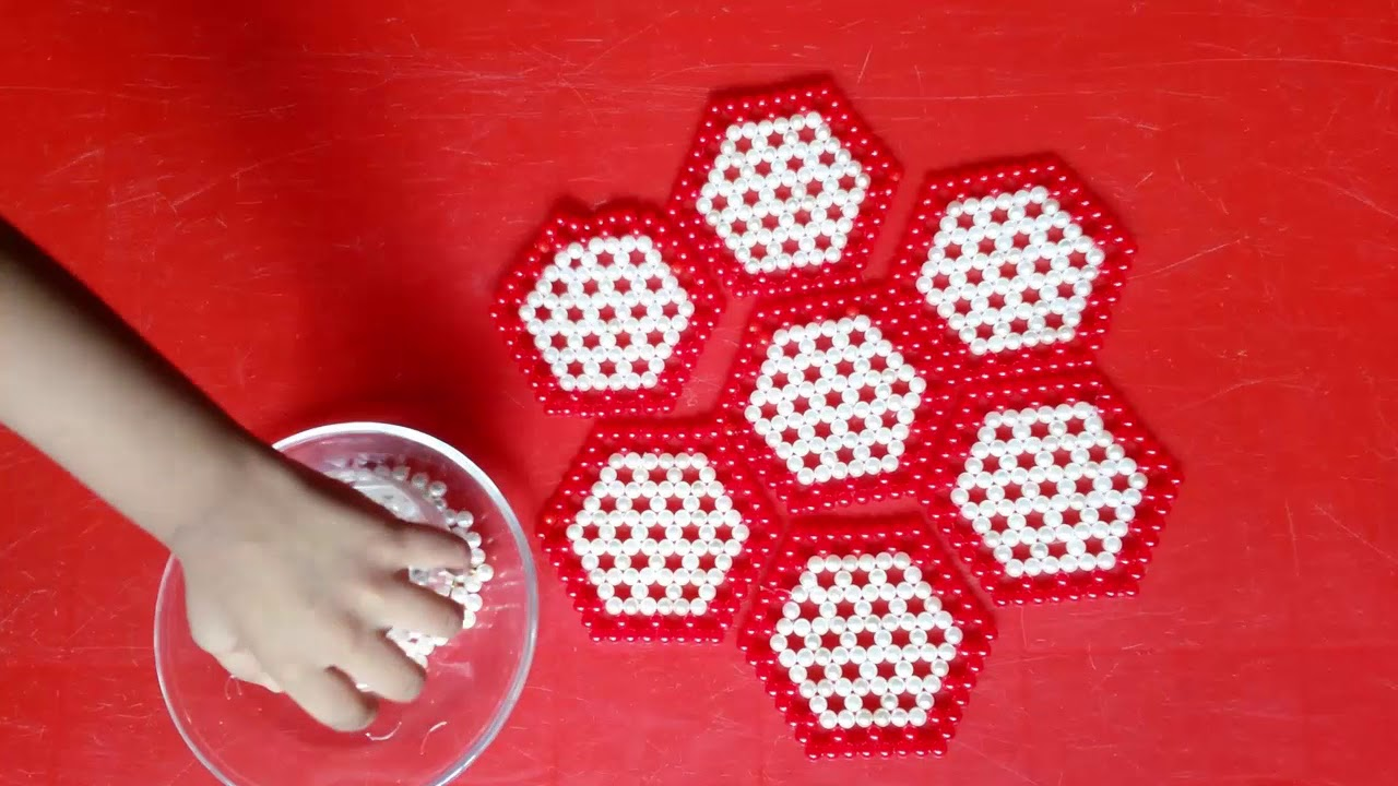 table mat craft ideas beautiful diy table mat how to make a beaded table mat 5535