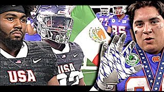 🔥🔥 19U USA v MEXICO | International Bowl X | Team USA vs Team Tamaulipas (MEXICO) AT&T Stadium