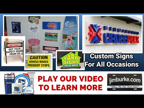 Classic Printing And Signs Birmingham AL - Custom Sign Company