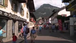 Oberstdorf im Sommer - Oberstdorf, Allgäu, Deutschland - Urlaub - Reise - Video