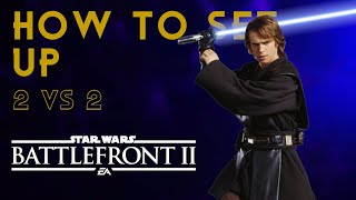 Star Wars Battlefront 2-How to play against friends in Hero Showdown