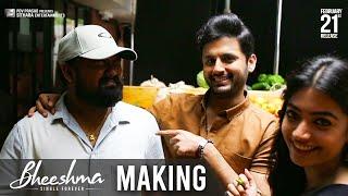 Bheeshma Movie Making | Nithiin, Rashmika | Venky Kudumula | #BheeshmaOnFeb21st