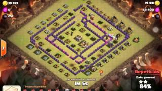 Clash of Clans. REINCIDENTES vs Firewall BR. Princesa Rojita haciendo 100% en guerra