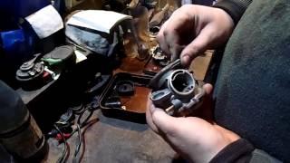 Xitoy scooter 50 uchun CVK carburetor kupligini qurilma va tozalash