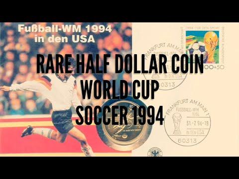 Rare Half Dollar Coin | Football World Cup 1994