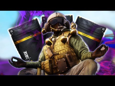 RAINBOW SIX SEIGE | ALPHA PACKS! MORE BLACK ICE??