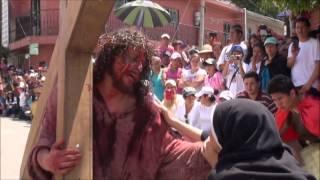 Escenas del Viacrucis Viviente 2014 Parroquia Nuestra Señora de la Merced León Gto.