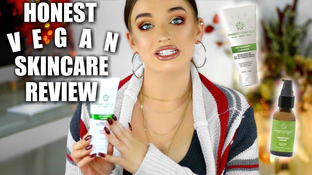 New Skincare Review | OMG BOTANICALS | Vegan Cleanser & Serum