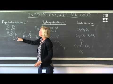 Kemi: Intermolekylære bindinger
