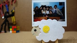 Portafoto  oveja / DIY - Manualidades