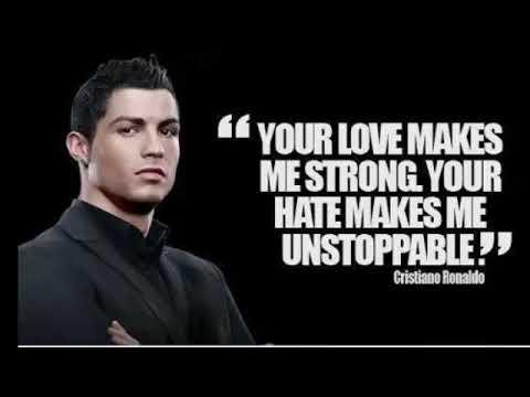 Cristiano Ronaldo Saying's • Whatsapp Status Video
