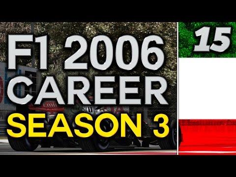 F1 2006 Career Mode S3 Part 15: Italian GP Monza