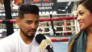 Abner Mares: After my victory over Leo Santa Cruz, I want Carl Frampton next!