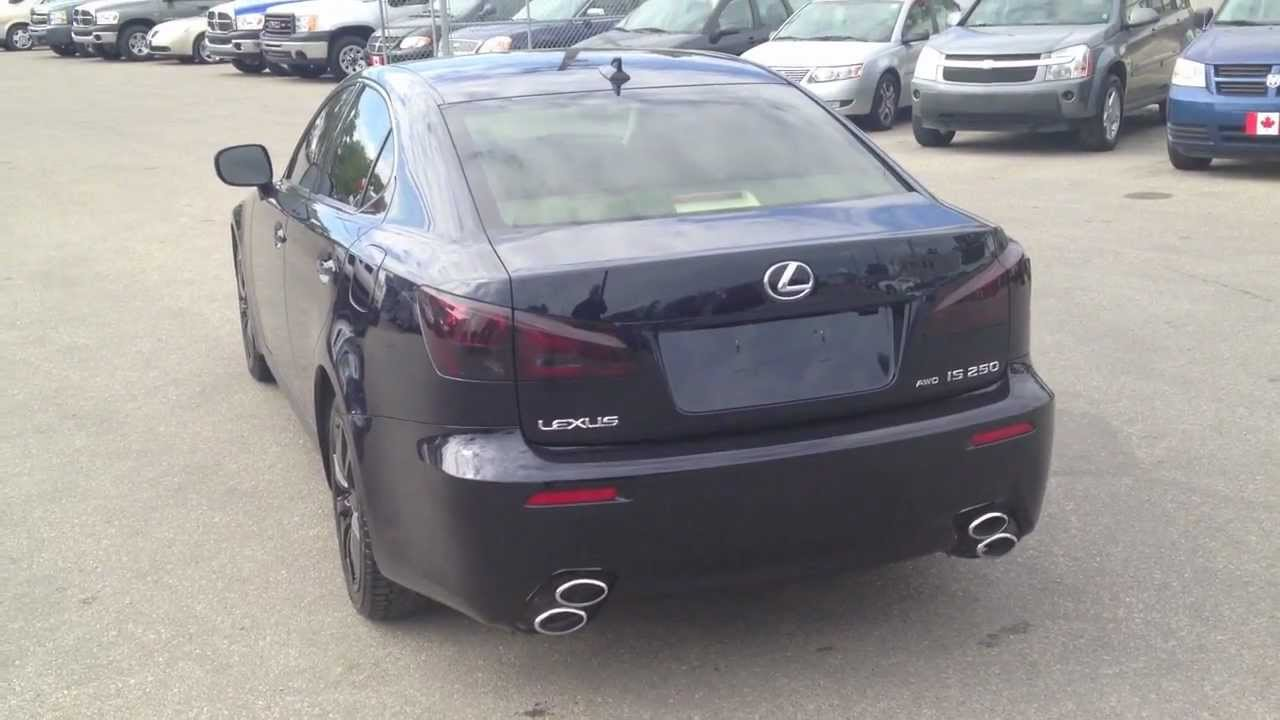 2008 Lexus Is 250 Awd Isf Bodykit Winnipeg Mb Youtube