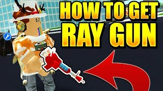 HOW TO GET THE SECRET RAY GUN IN ROBLOX MAD CITY! *SUPER OP*