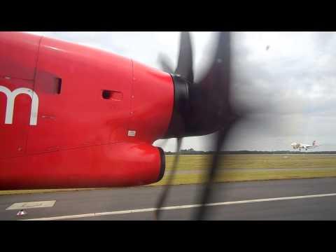 Airberlin Dash 8-400 D-ABQG Düsseldorf to Salzburg Starting 2014