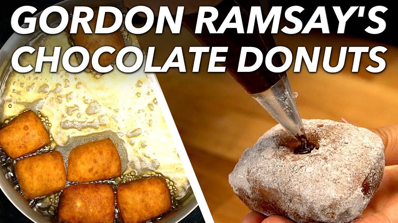 I Tried To Make Gordon Ramsay's Viral Homemade Chocolate Donuts | Food Challenge