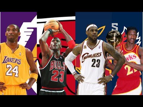 NBA Best Dunker Ever By Team