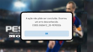 COMO RESOLVER ERRO DO PES 2018 ANDROID/MOBILE !! HOW TO RESOLVE ANDROID PES 2018 ERROR