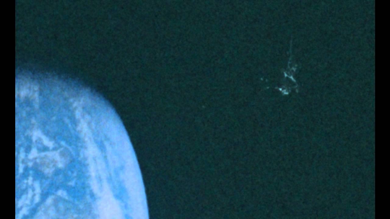 Dark Knight Satellite on old Apollo Photograph YouTube