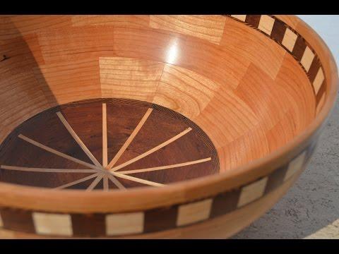 Woodturning a Segmented Fruit Bowl
