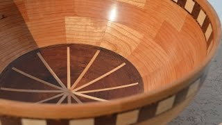 Woodturning A Segmented Fruit Bowl