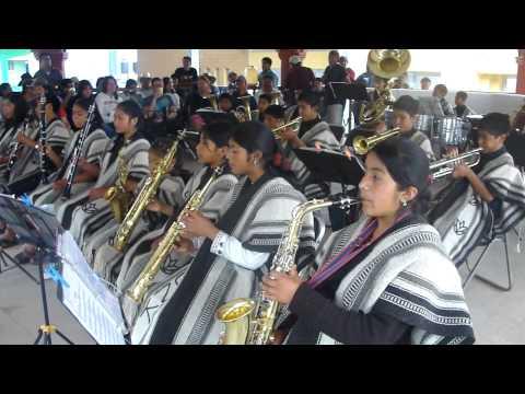 La del Moñio Colorado (Cumbia) - Banda Filarmónica de Tejas - Tlahuitoltepec