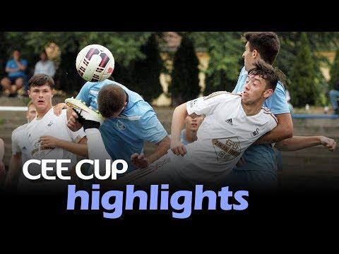 GENERALI CEE Cup: Swansea City - FC Academy Pandev 3:3