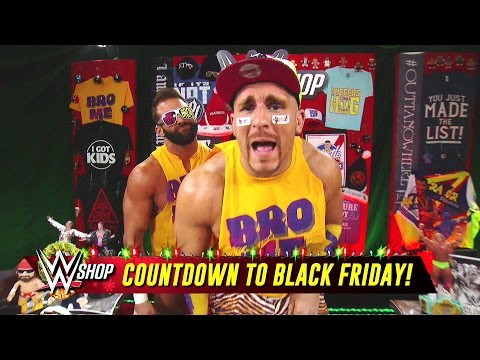 The Hype Bros get excited for the holiday season with WWE Shop: SmackDown LIVE, Nov. 22, 2016