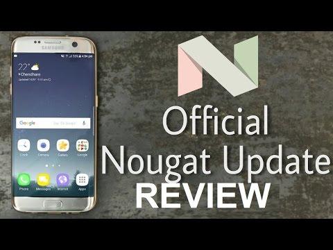 NOUGAT UPDATE Galaxy S7 Edge 7.0 Samsung