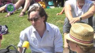 Wimbledon fans on Andy Murray's chances at The 2009 Championships
