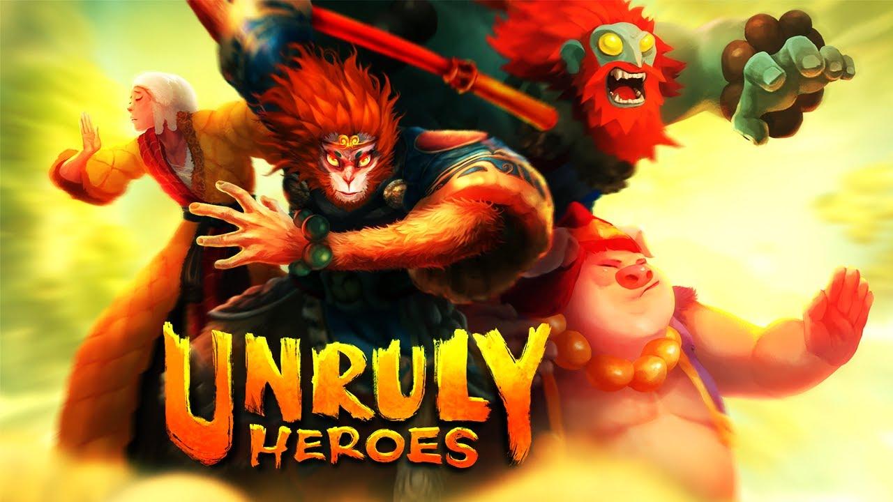 Unruly Heroes All Cutscenes (Game Movie) 1440p 60FPS