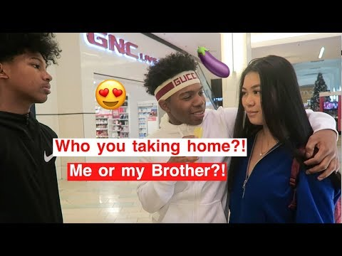 Who You Taking Home Me Or My Brother? PUBLIC INTERVIEW! *Got FREAKY