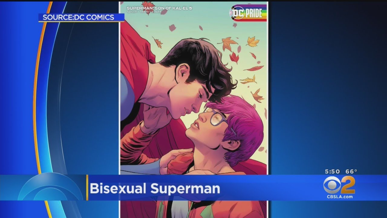 New Superman comes out as bisexual in upcoming DC comic