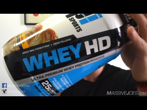 BPI Whey HD Protein Powder Supplement Review - MassiveJoes.com Raw Review WheyHD Whey-HD