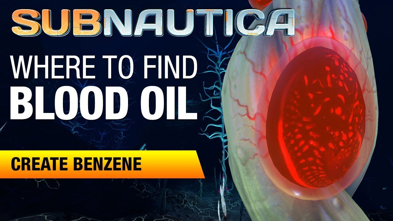 blood oil location subnautica