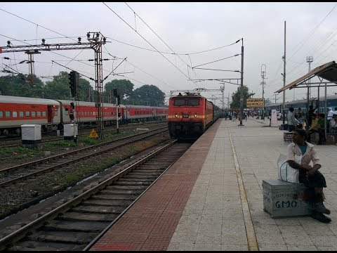 Arriving the holy city Gaya, on board Purushottam express 12801