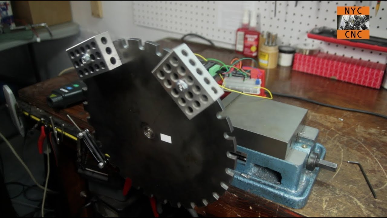 Use Arduino To Control A Large Stepper Motor Part 2 Youtube