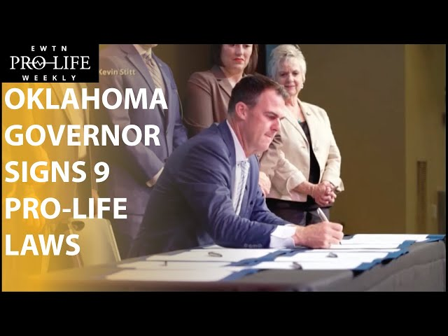 Oklahoma Governor Kevin Stitt Signs 9 New Pro-Life Laws