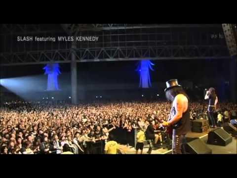 SLASH – Sweet child O'mine【live Summer Sonic Japan 2010】