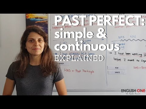 Past Perfect: Simple or Continuous   English One