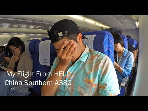 FLIGHT FROM HELL - China Southern's TERRIBLE A380 Review
