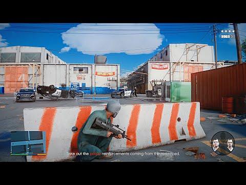 ▻ GTA 5 - 'Blitz Play' Mission *8k REMASTERED GRAPHICS