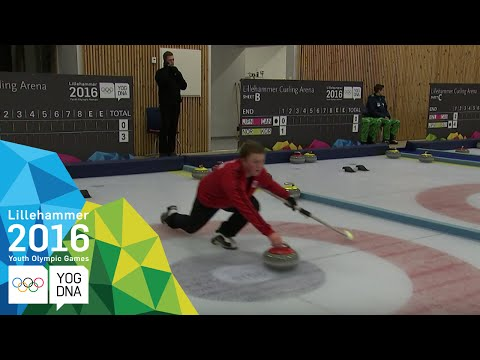Curling Mixed Doubles - Quarter-Finals | Lillehammer 2016 Youth Olympic Games