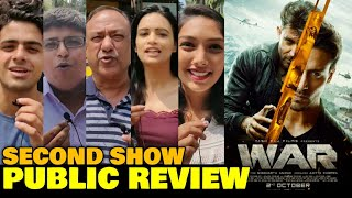 War Movie SECOND SHOW Public Review | Hrithik Roshan, Tiger Shroff