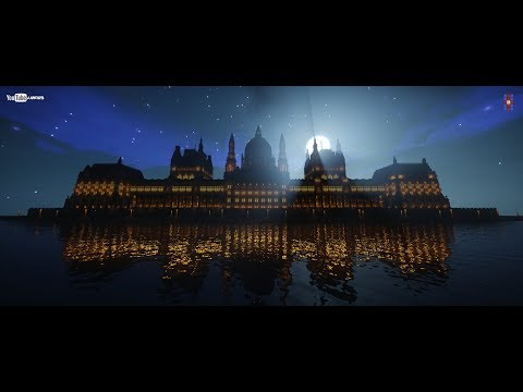 The Hungarian Parliament in Minecraft