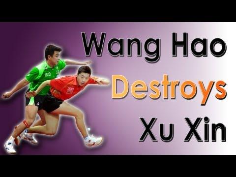 Wang Hao Destroys Xu Xin