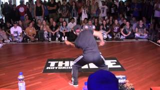 IBE 2013 Day 2 || HipHop Preselection Anthony Benjamin (Pop'arazziCrew) || MrOfColors