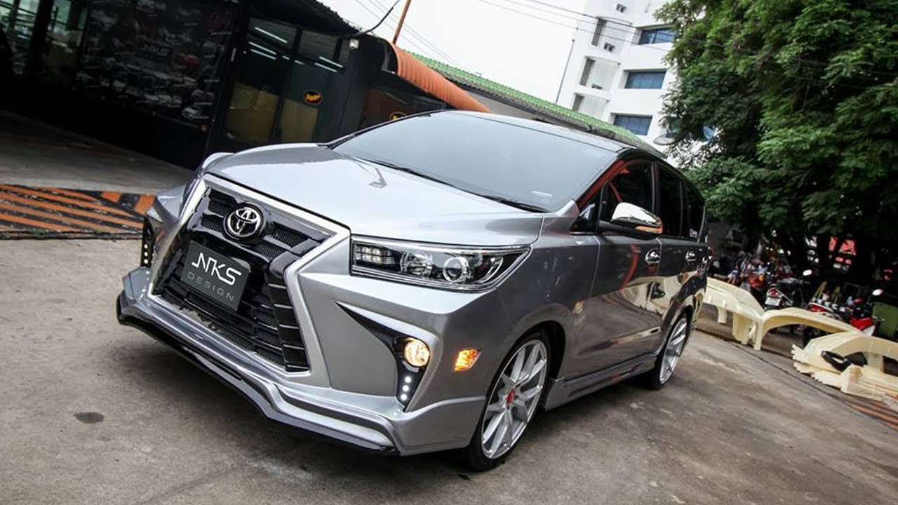 New Toyota Innova Crysta Modified LX Sport 2018 Looking Superb More